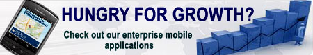 Hungry for growth?. Check out our mobile enterprise applications.