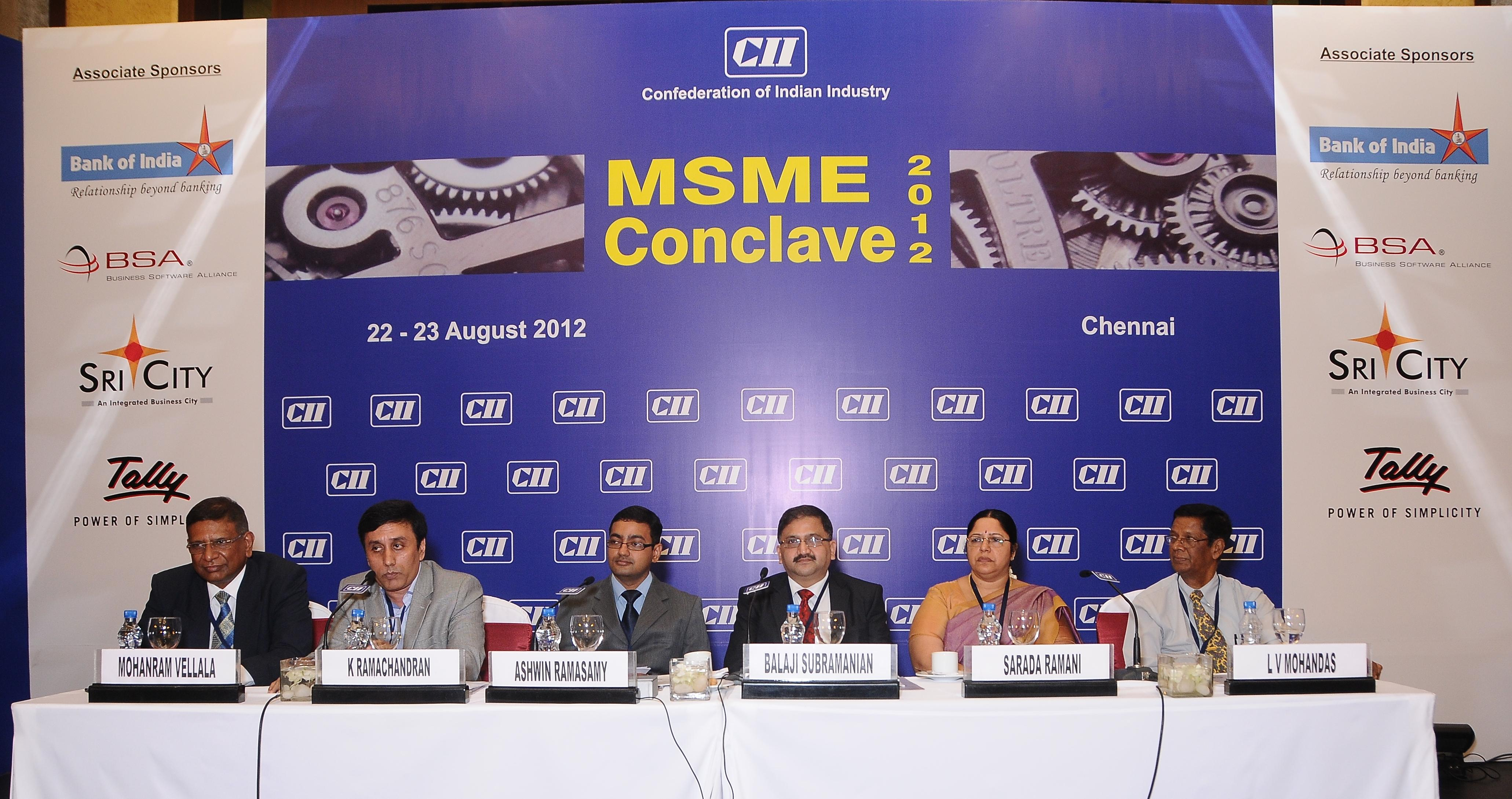 Regional MSME Conclave 2012